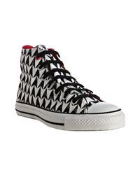 Converse | Black Arrow Canvas High-top Sneakers | Lyst