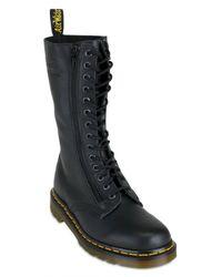 Dr. Martens - Black 14 Eye 2 Zip Boot (women) - Lyst