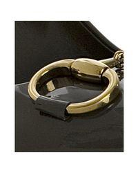 Gucci - Black Asphalt Patent Horsebit Pointed Toe Pumps - Lyst