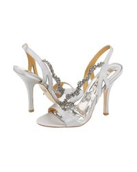 Badgley Mischka | Metallic Forrester | Lyst
