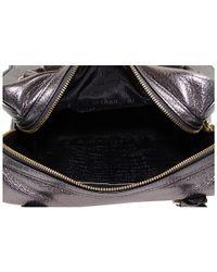 kate spade new york - Macdougal Alley - Small Damien Metallic Leather Satchel - Lyst