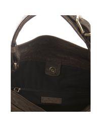 Givenchy | Brown Sheepskin Leather Moyen Hobo Bag | Lyst