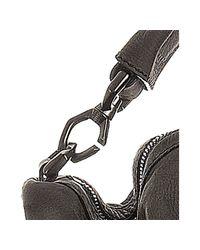 Givenchy - Gray Dark Grey Matte Calfskin Nightingale Moyen Bag - Lyst