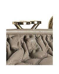Marc Jacobs - Gray Grey Quilted Leather Stam Handbag - Lyst