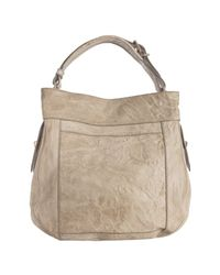 Givenchy | Brown Light Tan Sheepskin Leather Moyen Hobo Bag | Lyst