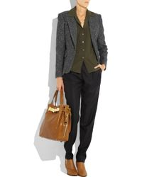 Michael Kors   Brown Hadley Large Leather Tote   Lyst