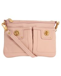 Marc By Marc Jacobs - Pink Totally Turnlock Percy Crossbody - Lyst