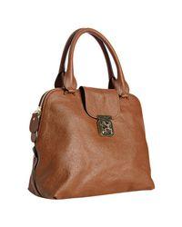 Chloé | Brown Nutmeg Calfskin Elsie Handbag | Lyst