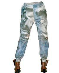 Tata Naka - Blue Fleece Sweat Pants/ Trousers - Lyst