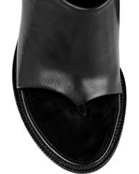 Alexander Wang | Black Edita Leather Mules | Lyst
