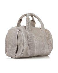 Alexander Wang | Gray Rocco Mini Duffle Bag | Lyst