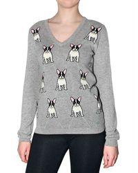 Beayukmui | Gray Dog Cashmere Knit Sweater | Lyst