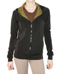 Delphine Murat | Black Tecnical Jersey Stretch Jacket | Lyst
