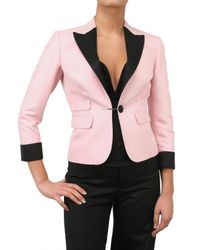 DSquared² - Pink Tuxedo Tailoring Jacket - Lyst