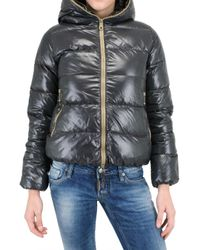 Duvetica | Gray Thia Shiny Nylon Down Jacket | Lyst