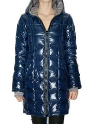Duvetica | Blue Edona Long Down Jacket | Lyst