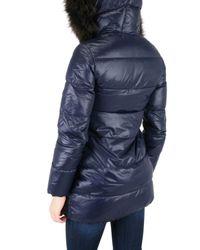 Duvetica | Blue Kappa Long Furr Down Jacket | Lyst