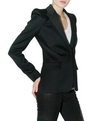 Givenchy - Black Knit Jacket - Lyst