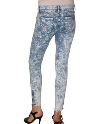 Kova & T | Blue Acid Wash Denim Katya Jeans | Lyst