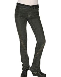 Rick Owens - Gray Stretch Denim Zip-out Jeans - Lyst