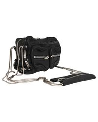Alexander Wang - Black Brenda Zip Chain Leather Bag - Lyst
