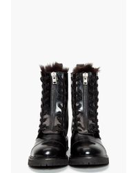 Acne Studios - Black Ankle Boots - Lyst