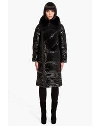 Pyrenex - Black New Gang Fur Coat - Lyst