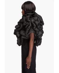 Comme des Garçons | Black Twisted Padded Jacket | Lyst