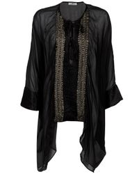 Day Birger et Mikkelsen | Black Cover Me Beaded Silk Kaftan | Lyst