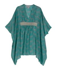 Paul & Joe | Blue Gladys Silk Kaftan Dress | Lyst