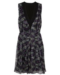 Proenza Schouler | Black Floral-print Dress | Lyst