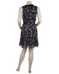 Proenza Schouler - Black Floral-print Dress - Lyst