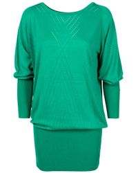 Temperley London | Green Mini Bonnie Dress | Lyst