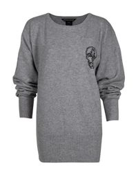 Thomas Wylde | Gray Spirits Batwing Sweater | Lyst