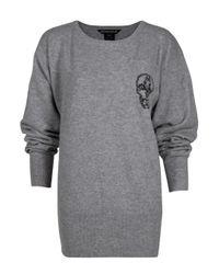Thomas Wylde - Gray Spirits Batwing Sweater - Lyst