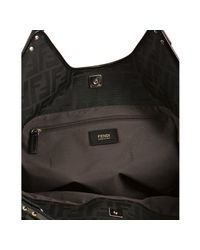 Fendi - Black Zucca Canvas Chef Shoulder Bag - Lyst