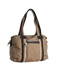 Fendi | Brown Mahogany Zucca Print Nylon Duffle Bag | Lyst