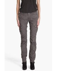 G-Star RAW | Gray Rovic Laundry Straight Cargos | Lyst