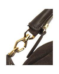 Givenchy - Brown Calfskin Suede Nightingale Medium Satchel - Lyst