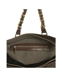 Marc Jacobs | Brown Quilted Leather Anabela Chain Shoulder Bag | Lyst
