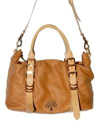 Mulberry | Brown Soft Matte Calf Mila Shoulder Bag | Lyst