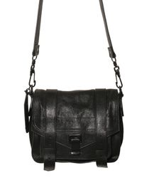 Proenza Schouler | Black Ps1 Pouch Lux Lamb Shoulder Bag | Lyst