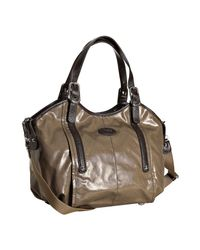 Tod's | Natural Beige Coated Canvas G-bag Easy Tote | Lyst