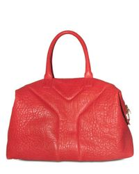 Saint Laurent | Red Lobster Pebbled Lambskin Easy Bag | Lyst