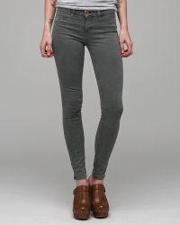 J Brand | Green Vintage Drab Olive 11 Inch Legging | Lyst