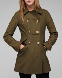 Tulle | Green Sailor Button Coat | Lyst