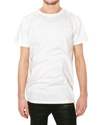 Balmain | Gray Pack Of Three Distressed Jersey T-shirts for Men | Lyst