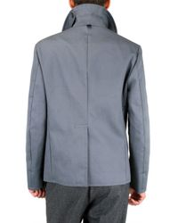 Black Fleece By Brooks Brothers - Gray Authentic Pea Coat for Men - Lyst