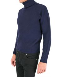 Black Fleece By Brooks Brothers - Blue Turtleneck Sweater for Men - Lyst
