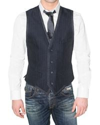 Dolce & Gabbana | Blue Single-breasted Striped Blazer for Men | Lyst